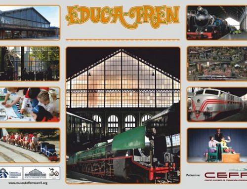 CEFF y el programa escolar del Museo del Ferrocarril