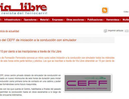 Microcurso del CEFF de iniciación a la conducción con simulador