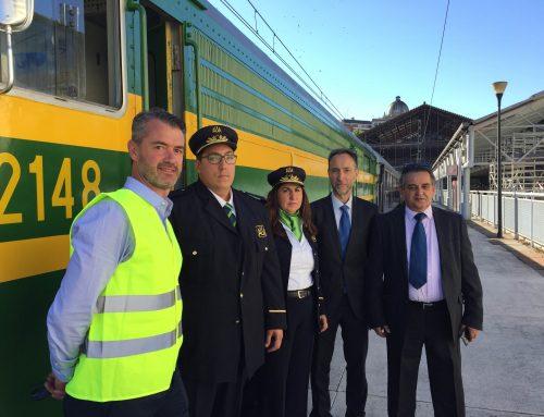 CEFF y el tren turístico Felipe II