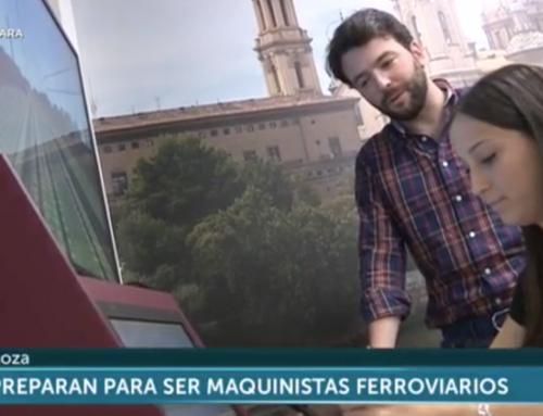 Visita de Aragon Tv a nuestra sede en Zaragoza